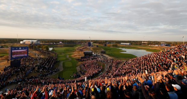 The Ryder Cup is underway