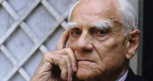 During the second World War Alberto Moravia  went into hiding.