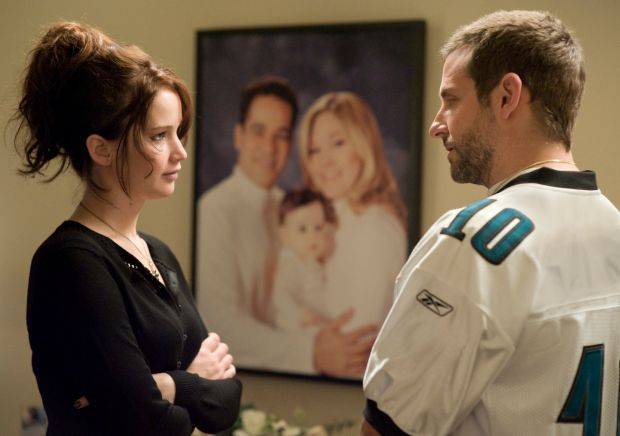 Silver Linings Playbook: Jennifer Lawrence and Bradley Cooper in David O Russell's film