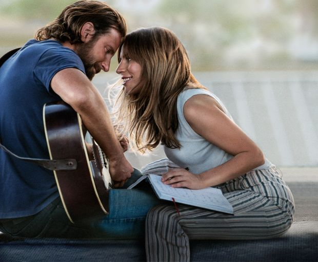 A Star Is Born: Bradley Cooper Jackson Maine and Lady Gaga as Ally