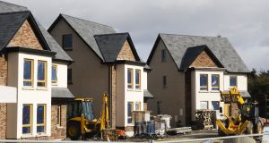 Figures from MyHome.ie showed house price inflation slowing. Photograph: iStock