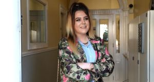 Jasmine Mooney: 'I want to settle and have a bit of stability. My life, it feels like it's on hold.' Photograph: Cyril Byrne/The Irish Times