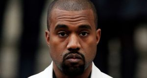File photograph of Kanye West, who has announced he is now to be known as Ye. Photograph: Jonathan Brady/PA Wire