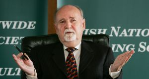 Michael Fingleton. Photograph: Cyril Byrne