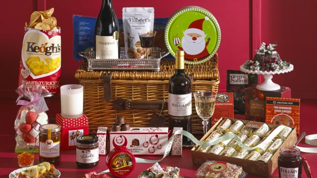 The traditional Christmas hamper from Hampers & Co