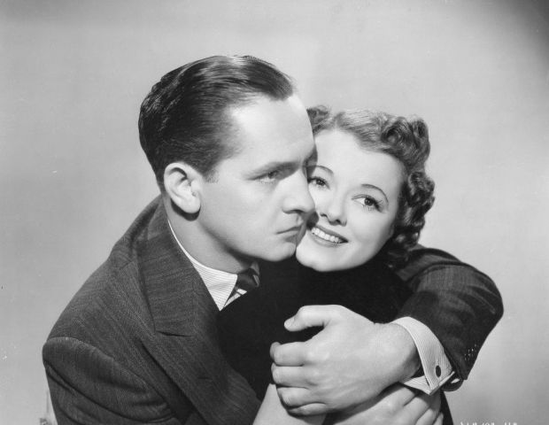 Frederick March and Janet Gaynor in A Star Is Born, 1934
