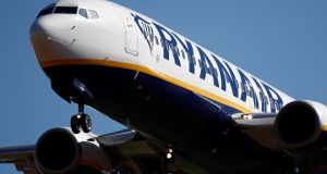 Ryanair said it would close its Eindhoven and Bremen bases in the Netherlands and Germany respectively. Photograph: Reuters/ Christian Hartmann