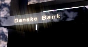 The head of Danske Bank's wealth management unit, Jacob Aarup-Andersen, has been named by some  as a likely new chief executive. Photograph: Jacob Gronholt-Pedersen/Reuters