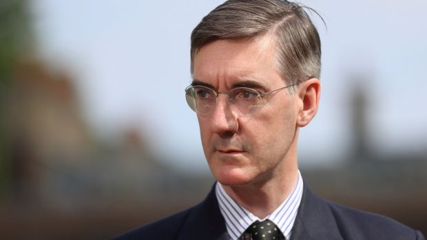 Brexit campaigner Jacob Rees-Mogg supports a Canada-style free trade agreement. Photograph: Simon Dawson/Reuters