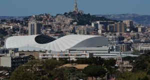 The 2020 Champions Cup final is to be held in Marseille. Photograph: Pascal Rondeau/Getty Images