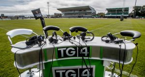 TG4's coverage at the Sportsground on Saturday was sloppy. Photograph: James Crombie/Inpho