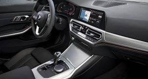 BMW has produced a larger cabin for the latest incarnation of the 3 Series. Photograph: Fabian Kirchbauer