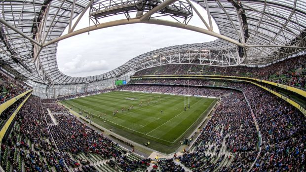 Over 46,000 tickets have been sold for Saturday's renewal of the Leinster-Munster rivalry at the Aviva Stadium. Photograph: James Crombie/Inpho
