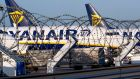 Ryanair's shares plunged 12.5 per cent to €11.48. Photograph: Yves Herman/File Photo/Reuters