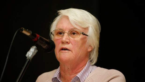 Speaking at a public meeting in Inchicore on a housing development planned for the area on Monday evening, Minister of State Catherine Byrne announced she had received a commitment for a report into the regeneration of the south central Dublin area. Photograph: Nick Bradshaw/The Irish Times