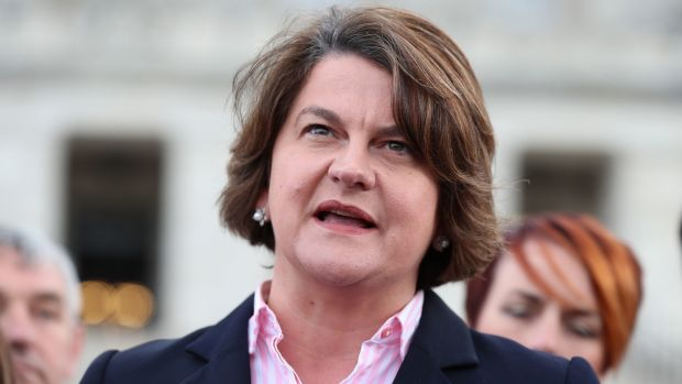 DUP leader Arlene Foster has said the Belfast Agreement should not be considered untouchable in Brexit negotiations. Photograph: Liam McBurney/PA Wire