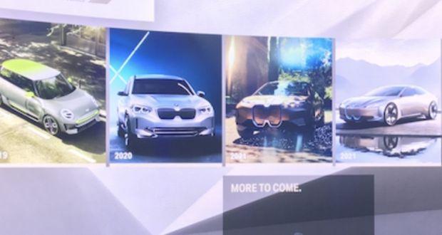 Paris Motor Show Bmw Outlines Its Electric Model Plans