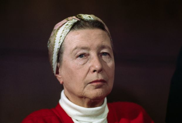 The Second Sex: Simone De Beauvoir. Photograph: Bettmann/Getty