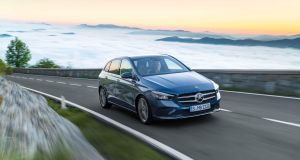The new Mercedes B-Class: smart but still relatively boxy
