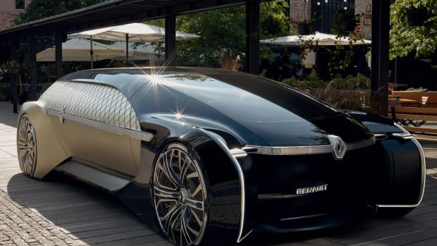 Renault's EZ-Ultimo is a properly far-out motor show concept, and has been designed to be fully autonomous (and that in spite of many car makers seemingly stepping back from full autonomy