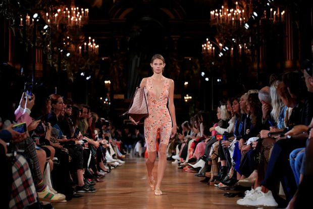 Paris Fashion Week: Stella McCartney spring-summer 2019 collection. Photograph: Gonzalo Fuentes/Reuters