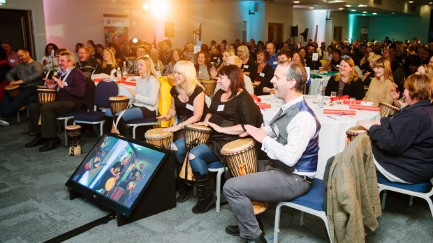 Drumming can create a real buzz among jaded audiences