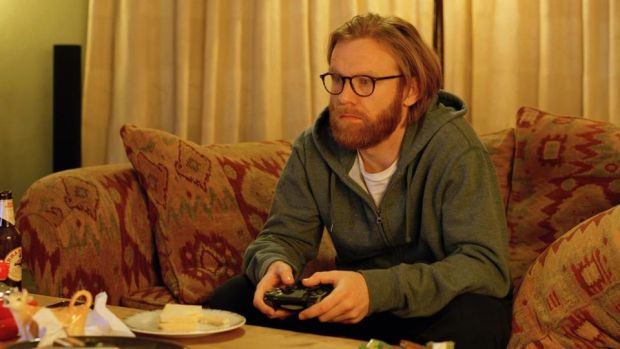 Brian Gleeson as Gabe in The Bisexual