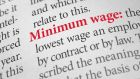 Minimum wage workers are  more likely to lose their jobs than higher paid employees, according to the ESRI study.