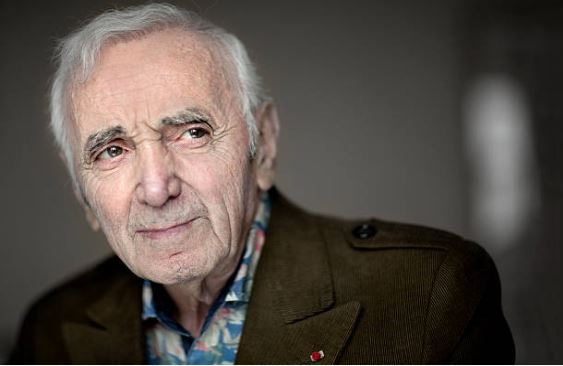 Charles Aznavour photographed in Spain in 2015. File photograph: Getty Images