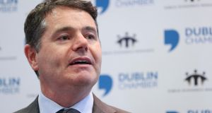 Minister for Finance Paschal Donohoe, who decided last April to hire outside consultants to report back to him by the end of the year on compensation in the banking sector.