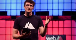 Web Summit chief executive  Paddy Cosgrave . Photograph: Getty Images