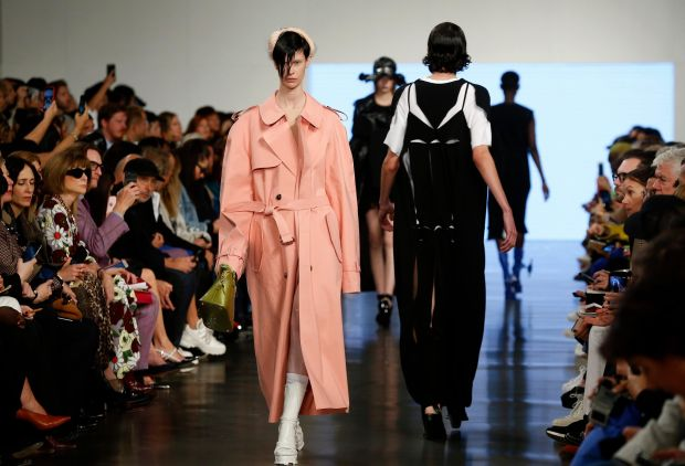 Paris Fashion Week: the Maison Margiela show. Photograph: Thierry Chesnot/Getty