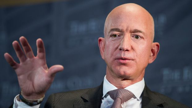 Amazon founder Jeff Bezos, said he initially wondered why the online retailer was being criticised over pay. Photograph: AP
