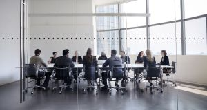 Just 13 per cent of Irish board members were female in 2017 while more than 40 per cent of listed companies here had no women on their boards, research carried out by Korn Ferry has found.
