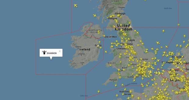Empty Map Of Ireland.Hacking Ruled Out As Cause Of Air Traffic Control Failure