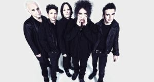 The Cure: playing Malahide Castle in June 2019. Photograph: Andy Vella