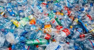 The Minister said a memorandum for Cabinet was being finalised. It would allow for continued use of plastic in some instances, such as medical circumstances. File photograph: The Irish Times