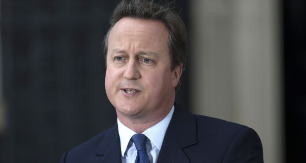'In November 2012, former British prime minister David Cameron wrote to Mark Waller, the intelligence services commissioner, asking him to keep the policy under review.' Photograph: Carl Court/Getty Images