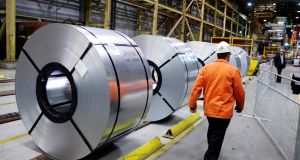 Essar Steel's large Hazira plant on India's west coast has attracted the interest of ArcelorMittal