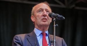 Members of the Independent Alliance have objected to being labelled the 'auld fellas' party' by others in Government. Pictured is Minister for Transport Shane Ross.