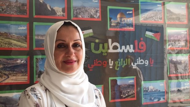 "Dr Oroba Subhi al-Mousa, chief field education officer for Unrwa in Jordan. ""We were told schools would close in May, then in June, finally in September."" Photograph: Michael Jansen"