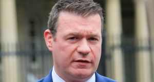 Deputy Alan Kelly told the public accounts committee he had received a letter from a whistleblower in the OPW. Photo: Gareth Chaney Collins