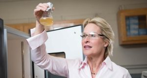 Nobel chemistry laureate: Frances Arnold's groundbreaking work is on enzymes. Photograph: HO/Reuters