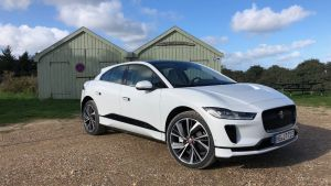 The Jaguar i-Pace is fast, fun, sure-footed, and intriguing to look at