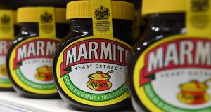 Marmite maker Unilever drops  plans to centralise its HQ in Rotterdam. Photograph:   Epa/Andy Rain