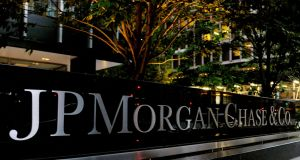 The US treasury said JP Morgan Chase Bank voluntarily disclosed the violations in question. Photograph: Peter Foley/Bloomberg