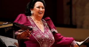 Montserrat Caballe laughs during a concert at Konzerthaus in Vienna, Austria June 22nd, 2011. Photograph: REUTERS/Lisi Niesner/File Photo