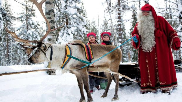 The ultimate festive trip to Lapland.