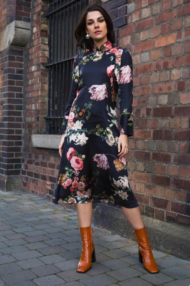 Floral dress €59.95 by Rowen Avenue at Carraig Donn stores nationwide.