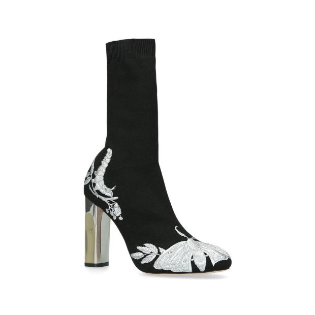 Embroidered ankle boot €895 by Alexander McQueen at Brown Thomas